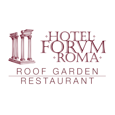 Logo of Roof Garden Restaurant **** Rome - logo