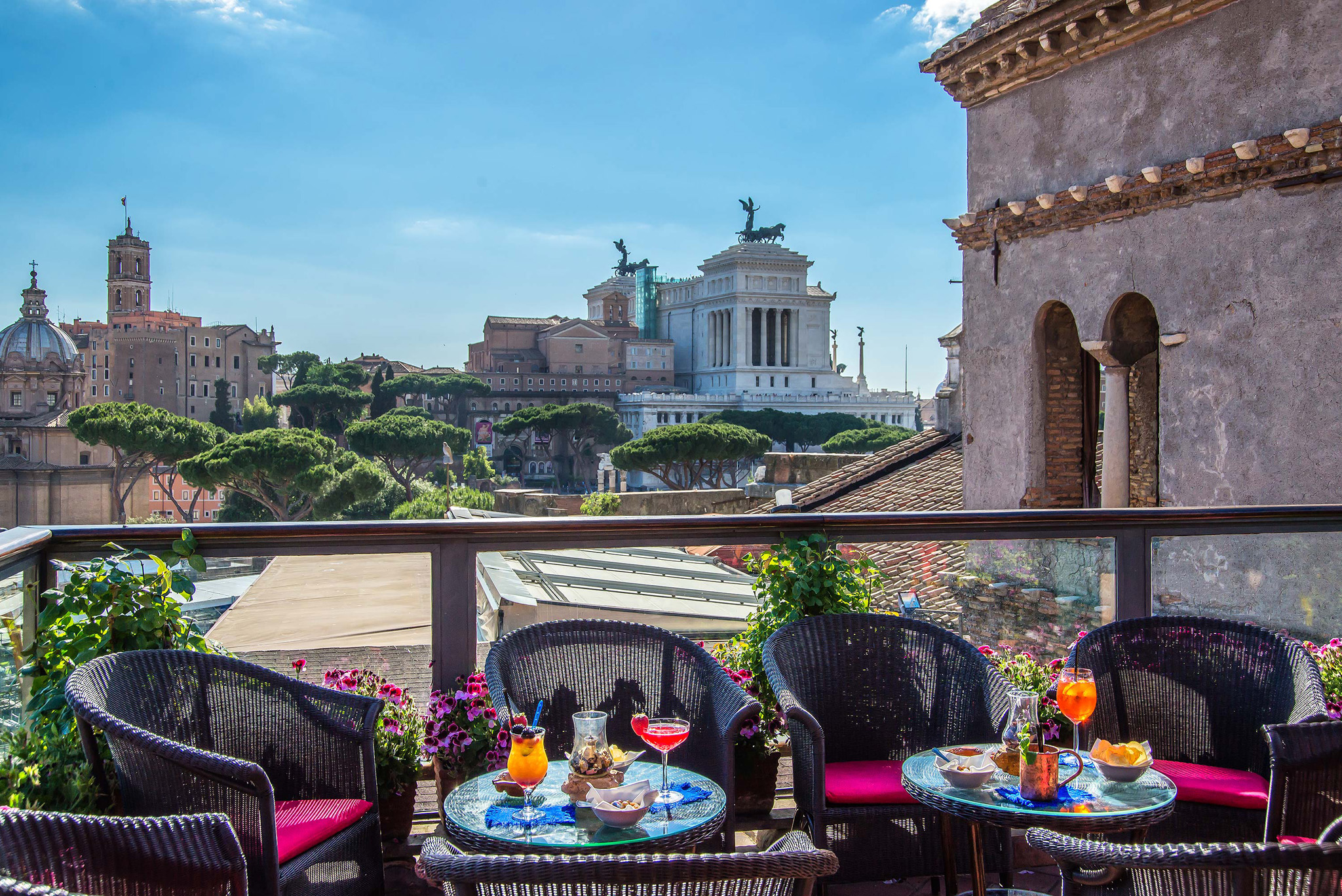 Roof Garden Hotel Forum, Rome | Welcome Official Website