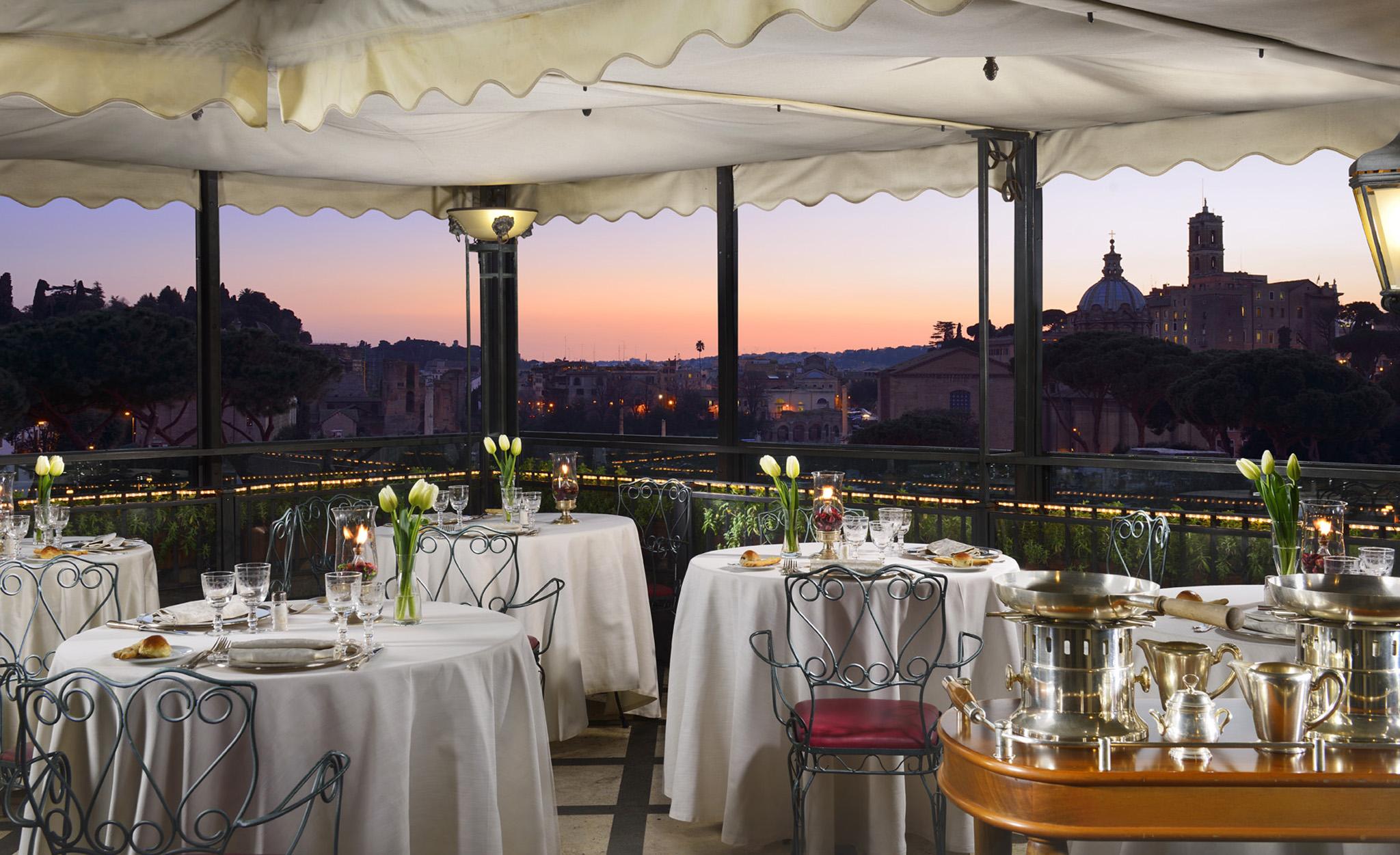 Delicieux Roof Garden Hotel Forum, Rome